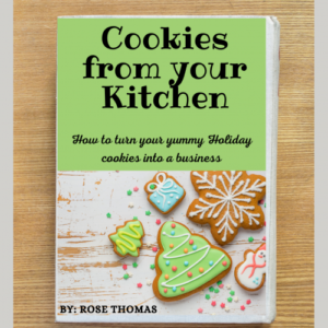 Baking Cookies from your Kitchen