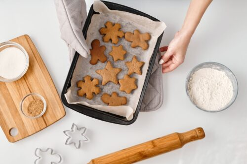 cookie baking business