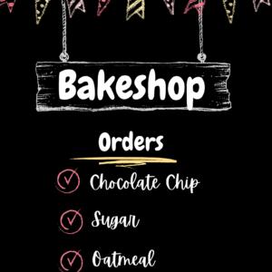 Bake Shop Sign
